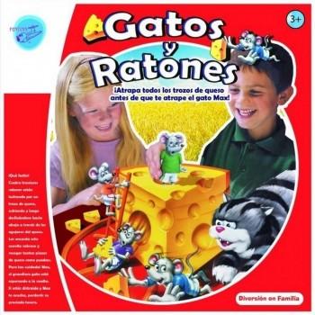 JUEGO GATOS Y RATONES IMPOR JUGUETO