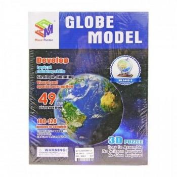 PUZZLE 3D GLOBO MUNDIAL JUGUETON