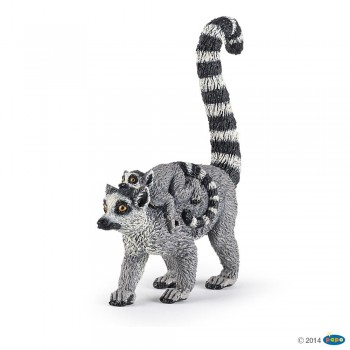 ANIMAL PAPO LEMUR