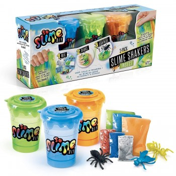 SLIME SHAKERS 3 BOTES CANAL TOYS REF-SSC010