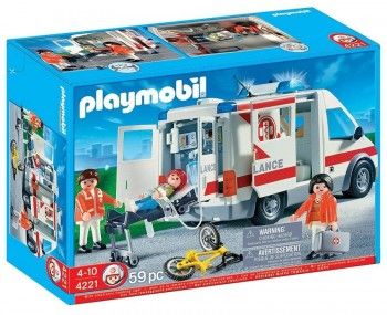 PLAYMOBIL AMBULANCIA 4221
