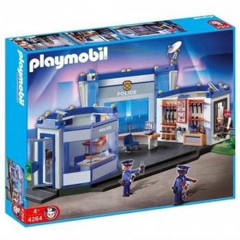 PLAYMOBIL ESTACION POLICIA 4264