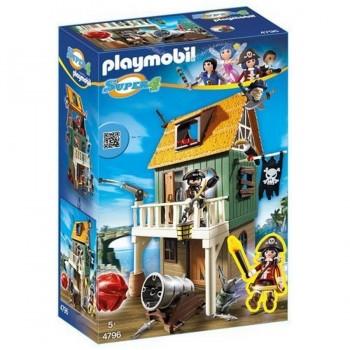 PLAYMOBIL FUERTE PIRATA CAMUFLADO 4796