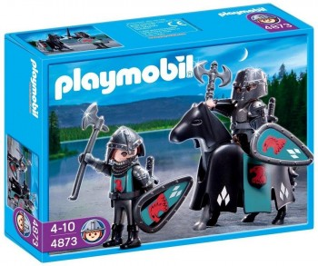 PLAYMOBIL TROPA CABALLEROS DEL HALCON 4873