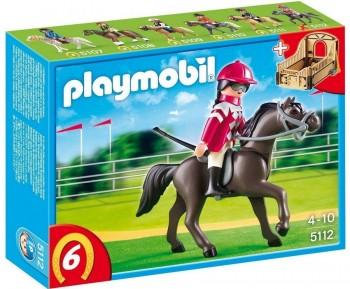 PLAYMOBIL JINETE ARABE C/ CABALLO 5112