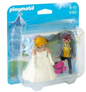 PLAYMOBIL DUO PACK NOVIOS 5163