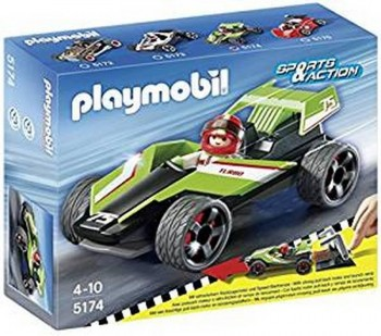 PLAYMOBIL COCHE TURBO 5174