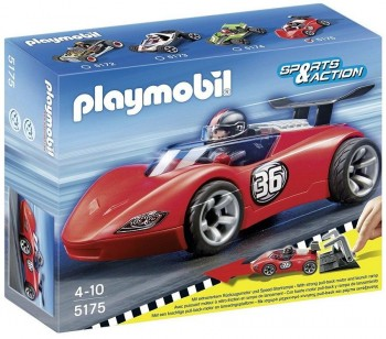 PLAYMOBIL COCHE SPORTS 5175