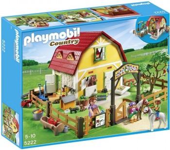PLAYMOBIL RANCHO DE PONIS 5222