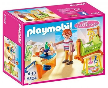 PLAYMOBIL CITY HABITACION BEBES 5304