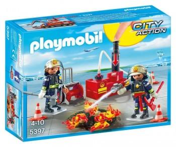 PLAYMOBIL EQUIPO BOMBEROS 5397