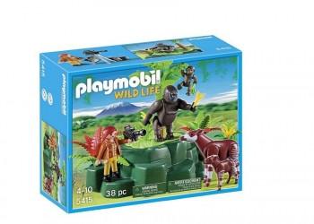 PLAYMOBIL GORILAS 5415