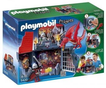 PLAYMOBIL COFRE DRAGON 5420
