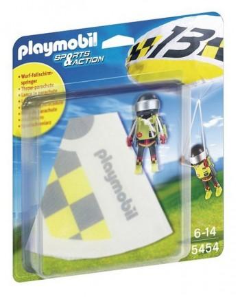 PLAYMOBIL PARACAIDISTA AMARILLO 5454