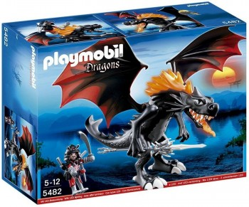 PLAYMOBIL DRAGON GIGANTE FUEGO LED 5482