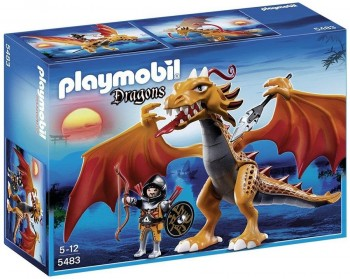 PLAYMOBIL DRAGON DE FUEGO 5483
