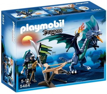PLAYMOBIL DRAGON VERDE 5484