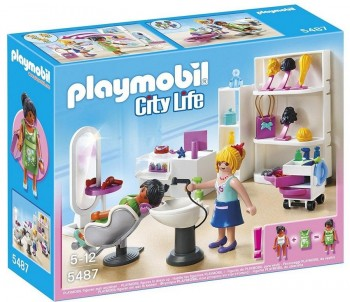 PLAYMOBIL PELUQUERIA CITY LIFE 5487