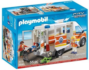 PLAYMOBIL AMBULANCIA C/SIRENA 5541