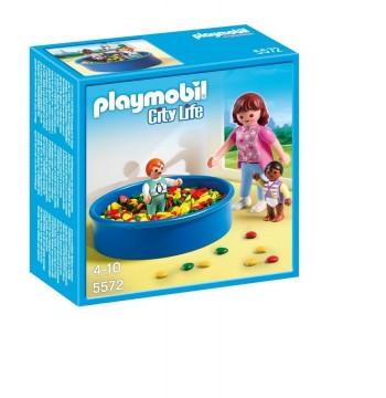 PLAYMOBIL PISCINA DE BOLAS 5572