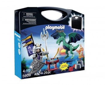 PLAYMOBIL MALETA DRAGONES 5609