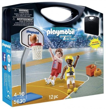PLAYMOBIL MALETA BASKET 5630