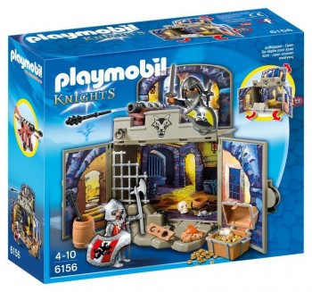 PLAYMOBIL COFRE CABALLEROS 6156