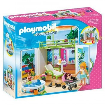 PLAYMOBIL COFRE BUNGALOW 6159