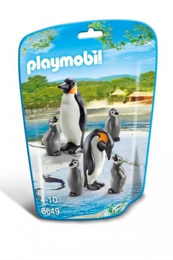 PLAYMOBIL FAMILIA DE PINGUINOS 6649