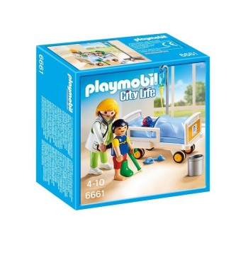 PLAYMOBIL DOCTOR NIÑO 6661