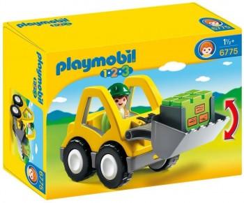 PLAYMOBIL 1 2 3 PALA 6775