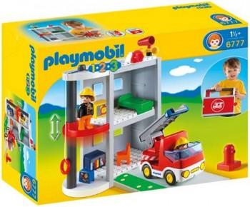 PLAYMOBIL 1 2 3 PARQUE BOMBEROS 6777