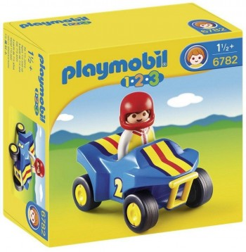 PLAYMOBIL 1 2 3 QUAD 6782