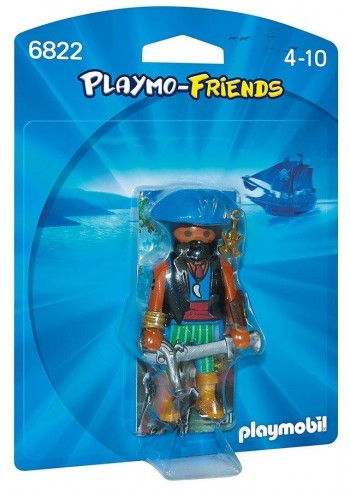 PLAYMOBIL FRIENDS PIRATA 6822