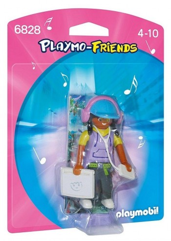 PLAYMOBIL FRIENDS CHICA MULTIMEDIA 6828