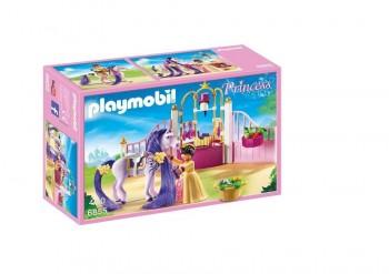 PLAYMOBIL PRINCESAS ESTABLO REAL 6855