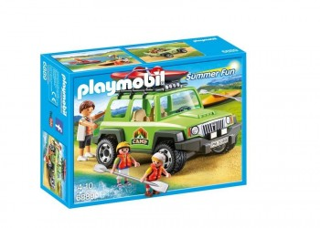 PLAYMOBIL SUMMER VEHICULO CAMPING 6889