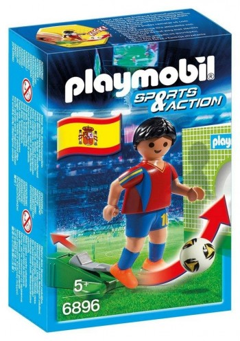 PLAYMOBIL FUTBOLISTA ESPAÑA 6896