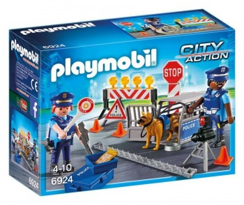 PLAYMOBIL CITY CONTROL POLICIAL 6924