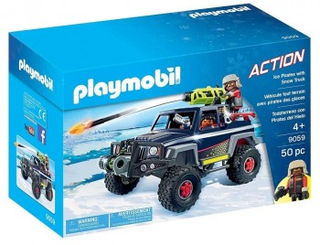 PLAYMOBIL CITY TODOTERRENO CON PIRATAS DEL HIELO 9059