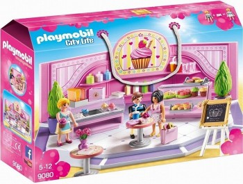 PLAYMOBIL CITY LIFE CAFETERIA 9080