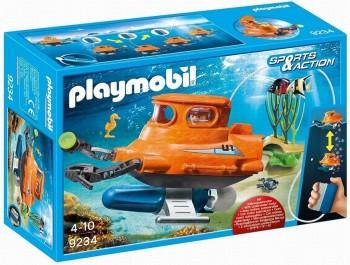 PLAYMOBIL SUBMARINO CON MOTOR 9234