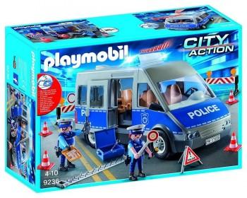 PLAYMOBIL CITY FURGON DE POLICIA CONTROL 9236