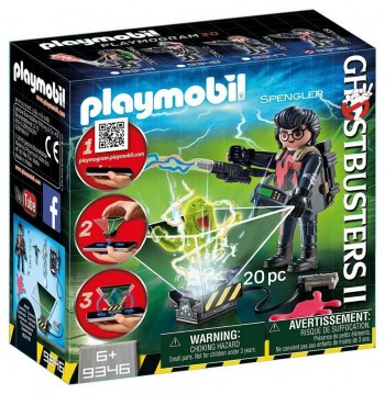 PLAYMOBIL CAZA FANTASMAS SPENGLER 9346