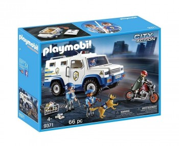 PLAYMOBIL CITY VEHICULO BLINDADO 9371