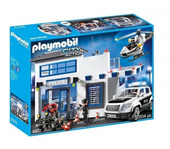 PLAYMOBIL CITY MEGA SET POLICIA 9372