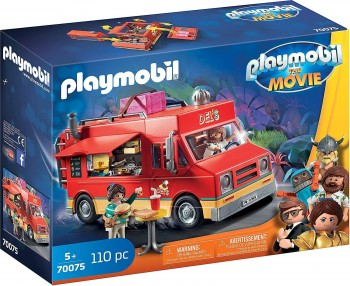 PLAYMOBIL THE MOVIE FOOD TRUCK 70075