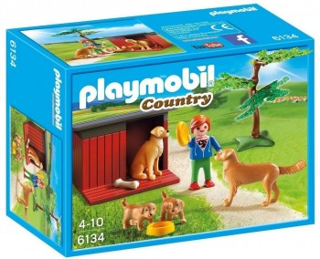 PLAYMOBIL PERRO GOLDEN 6134