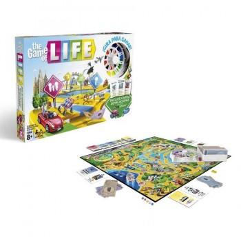 """JUEGO THE GAME OF LIFE \""""JUEGO DE LA VIDA\"""" HASBRO"""