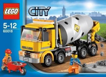 LEGO CITY HORMIGONERA 60018